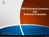 The Erp Business Process