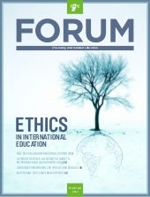 The Ethical International Education Agent | 2014 Winter EAIE Forum member magazine