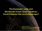 The European-wide and Worldwide Sma...