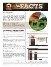The Facts; Busting the Grass-fed Beef Myths