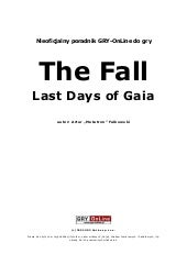The fall last days of gaia poradnik