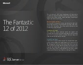 The fantastic 12 of sql server 2012