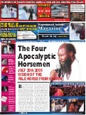 The four apocalyptic horse. David Owuor.