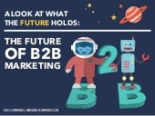 The Future Of B2B Marketing / By @TheCoolestCool