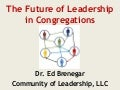 The Future of Leadership in Congregations