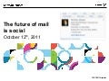 The future of mail is social