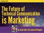 Future of Technical Communication is Marketing