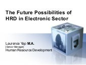 The Future HR Development  in Manufacturing Sector of Penang