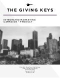 The Giving Keys: Integrated Marketing Plan
