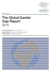 The global gender repot 2011