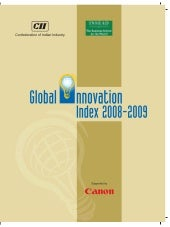 The global innovation index 2009