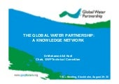 The Global Water Partnership - a Knowledge Network. By Mohamed Ait-Kadi.