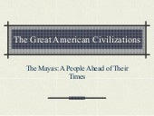 The great American civilizations: T...
