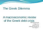 The greek dilemma