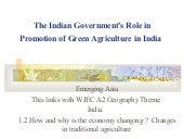 The greening of india