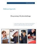 The Growing US Jobs Challenge  - The McKinsey Quarterly - June 2011