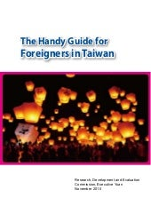 The handy guide for foreigners in t...