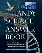 The handy science answer book (the ...