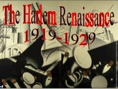 The Harlem Renaissance   97-03