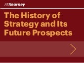 The History of Strategy and Its Future Prospects