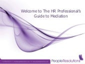 The HR Professional's Guide to Medi...