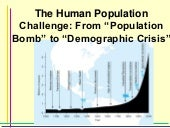 The Human Population Challenge: Fro...