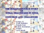 Human Resource crisis in rural heal...