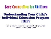 The IEP Process for Parents