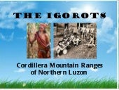 The igorots (socan report)