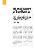 The impact of colours on brand identity