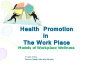 The impact of health promotion & co...