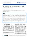 The impact of hiv and aids research a case study from swaziland