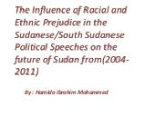 The influence of racial and ethnic ...