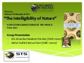The Intelligibility of Nature by Pe...