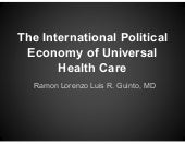 The International Political Economy...