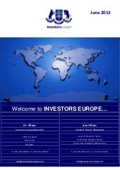 Investors Europe Stock Brokers Maur...