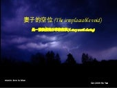 妻子的空位 (The Irreplaceable Void)