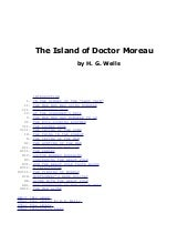 The Island Of Doctor Moreau by H.G....