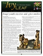 The ivy leaf, volume 1, issue 23