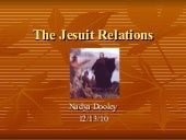 The jesuit relations