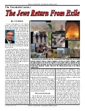 The Jews Return From Exile -  Proph...