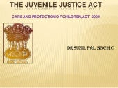 The juvenile justice actppt 14.6.11