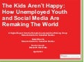 The Kids Aren't Happy: How Unemployed Youth and Social Media Are Remaking The World