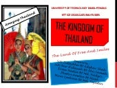 The kingdom of thailand 2013