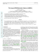 The large apex bolometer_camera_laboca