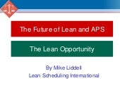 The Lean Opportunity