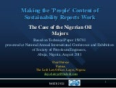 Making the 'People' Content of Sust...