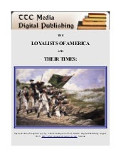 The Loyalists of America and Their ...