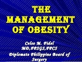 Themanagementofobesity 100312193454...