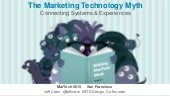 The Marketing Technology Myth - Connecting Systems and Experiences